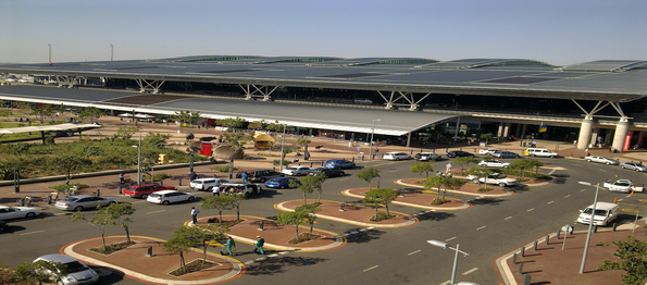Five of South Africa's busiest airports