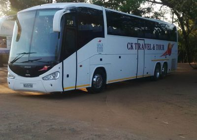 48 Seater Scania Bus Side