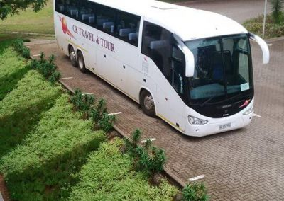 48 Seater Scania Bus Front