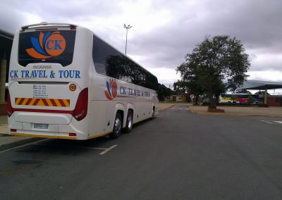 48 Seater Scania Bus Rear Side