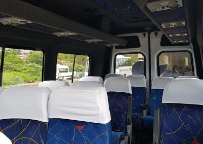 30 Seater Mercedes Coach Interior