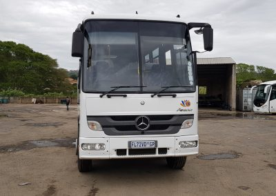 Front View 30 seater Coach