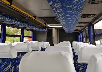 30 Seater Mercedes Coach Inside