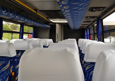 Inside View 30 seater Coaches