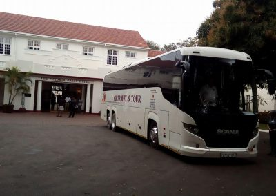 48 seater Scania Bus Pit Stop
