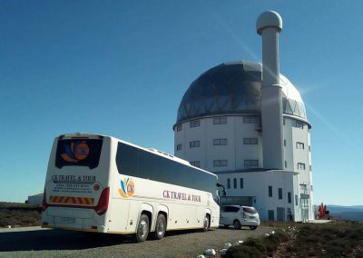 48 Seater Scania Bus at SALT Telescope