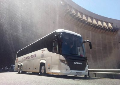 48 Seater Scania Bus at The Dam Wall
