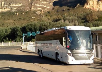 48 Seater Scania Bus Doing Tours