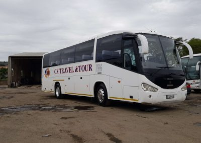 34 Seater Iriza Coach Front