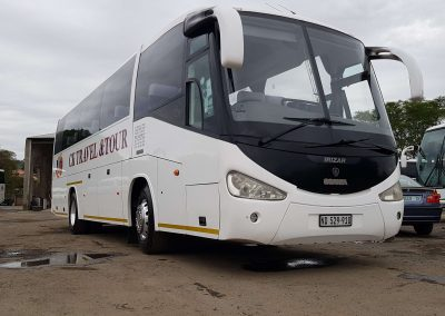 34 Seater Iriza Coach Front Side